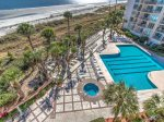 Large Ocean Front Pool at Villamare in Palmetto Dunes on Hilton Head Island